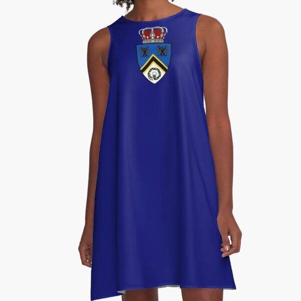 Kingdom of Hrafnarfjall Lesser Coat of Arms A-Line Dress