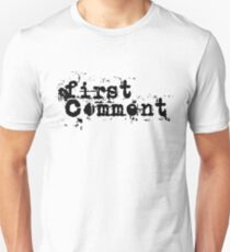 First Comment T-Shirt