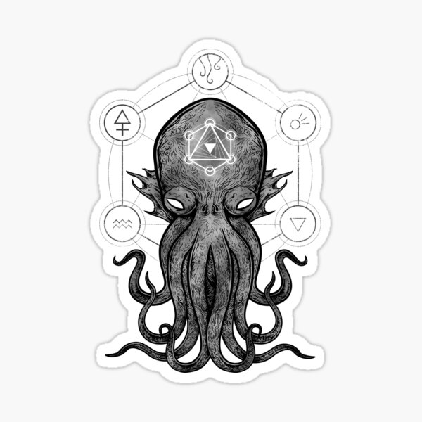 Sacred Cthulhu Sticker