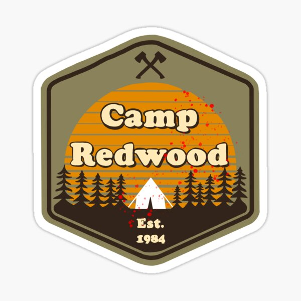 Camp Redwood Sticker