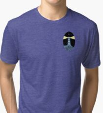 The Lighthouse (breast logo version) Tri-blend T-Shirt