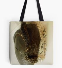 face with tree Imagery Tote Bag