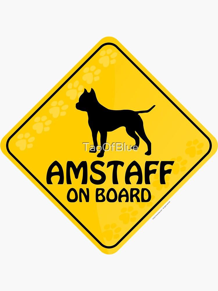 Amstaff On Board by TaoOfBlue