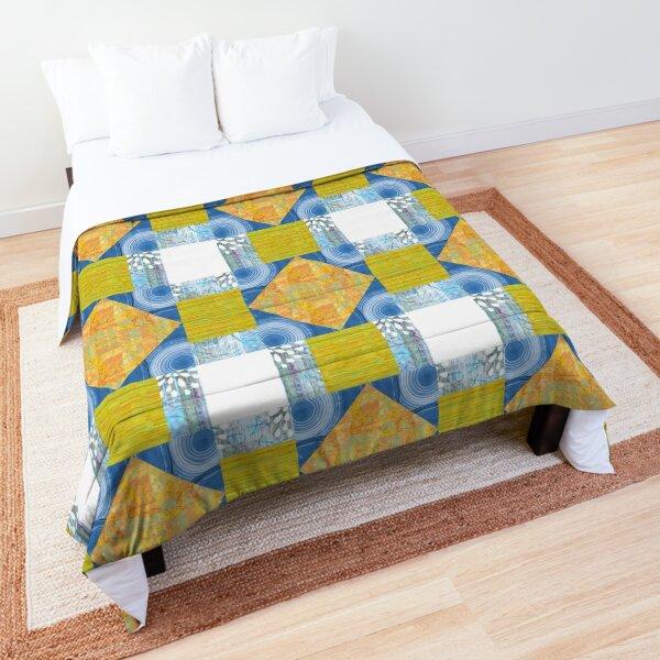 Hole in the Barn Door Patchwork Block Comforter