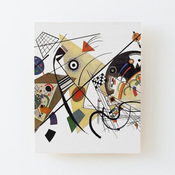 Traversée de Kandinsky, 1923 Impression montée sur bois
