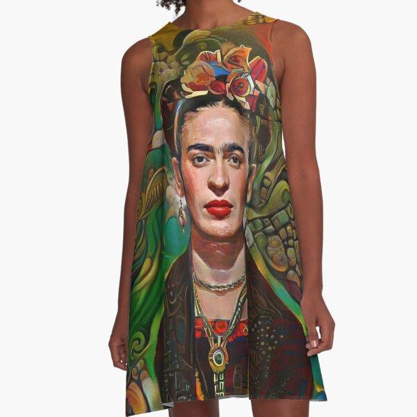 Aztec Frida A-Line Dress