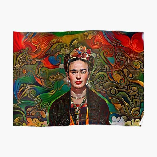Aztec Frida Poster