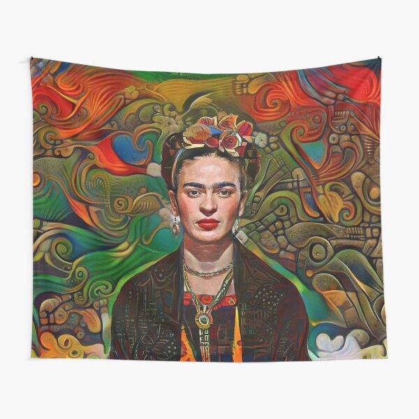 Frida azteca Tela decorativa