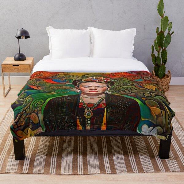 Aztec Frida Throw Blanket