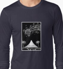 Comet over Taranaki Long Sleeve T-Shirt