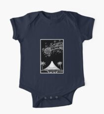 Comet over Taranaki One Piece - Short Sleeve