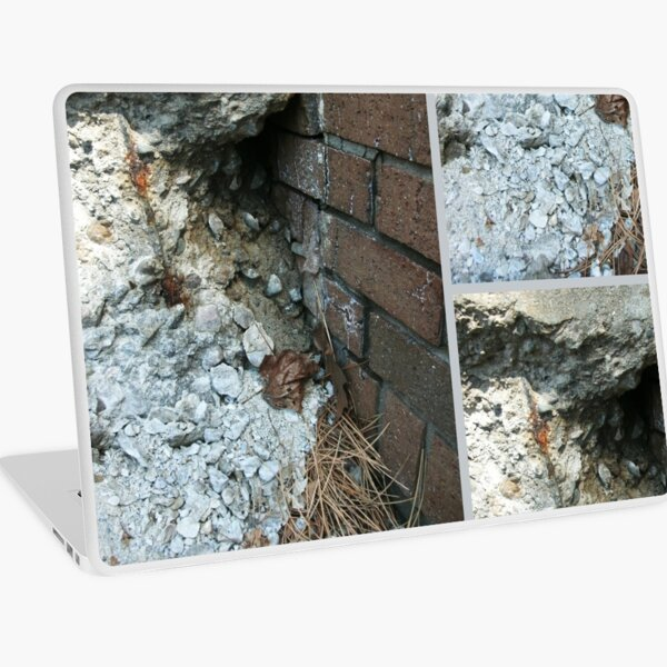 Crumbling Corner, City Photography by Courtney Hatcher Laptop Skin