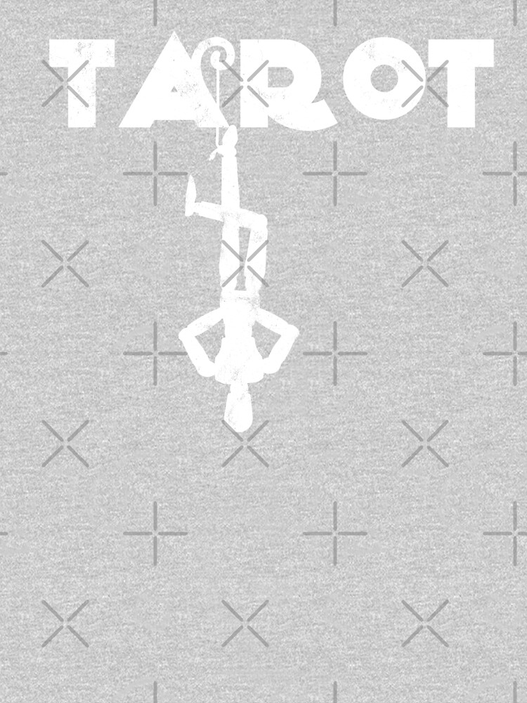 Tarot Hanged Man Fortune Teller Crystal Ball Palm Reader by thespottydogg