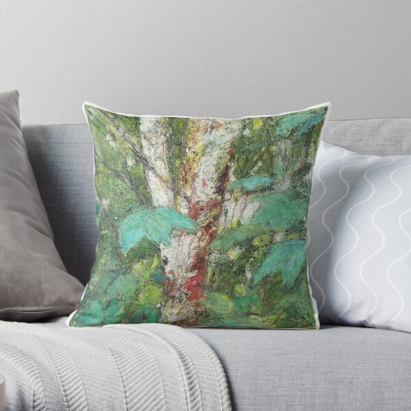 Pacific Northwest Throw Pillow
