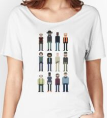 Pixel Outpost 31 Crew Women's Relaxed Fit T-Shirt