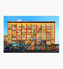 Five Pointz Graffiti Building: Queens, NYC Photographic Print