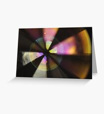 Bubble Abstract (In Synch #2) Greeting Card