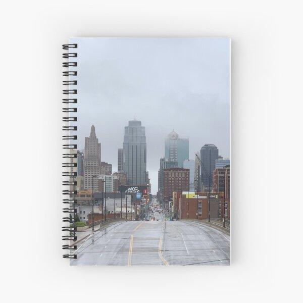Misty Morning in Kansas City Spiral Notebook