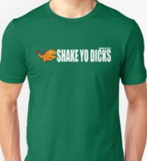 Shake Yo Dicks - Fishy - White Unisex T-Shirt