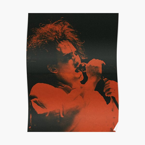 Robert Smith In Action Poster