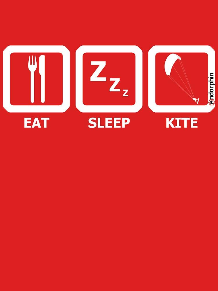 TShirtGifter presents: Eat Sleep Kite | Unisex T-Shirt