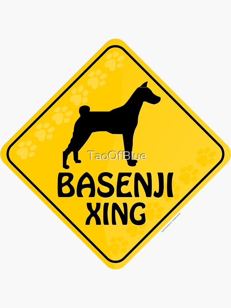 Basenji Xing by TaoOfBlue