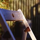 Folding Chair  by Mandy Kerr