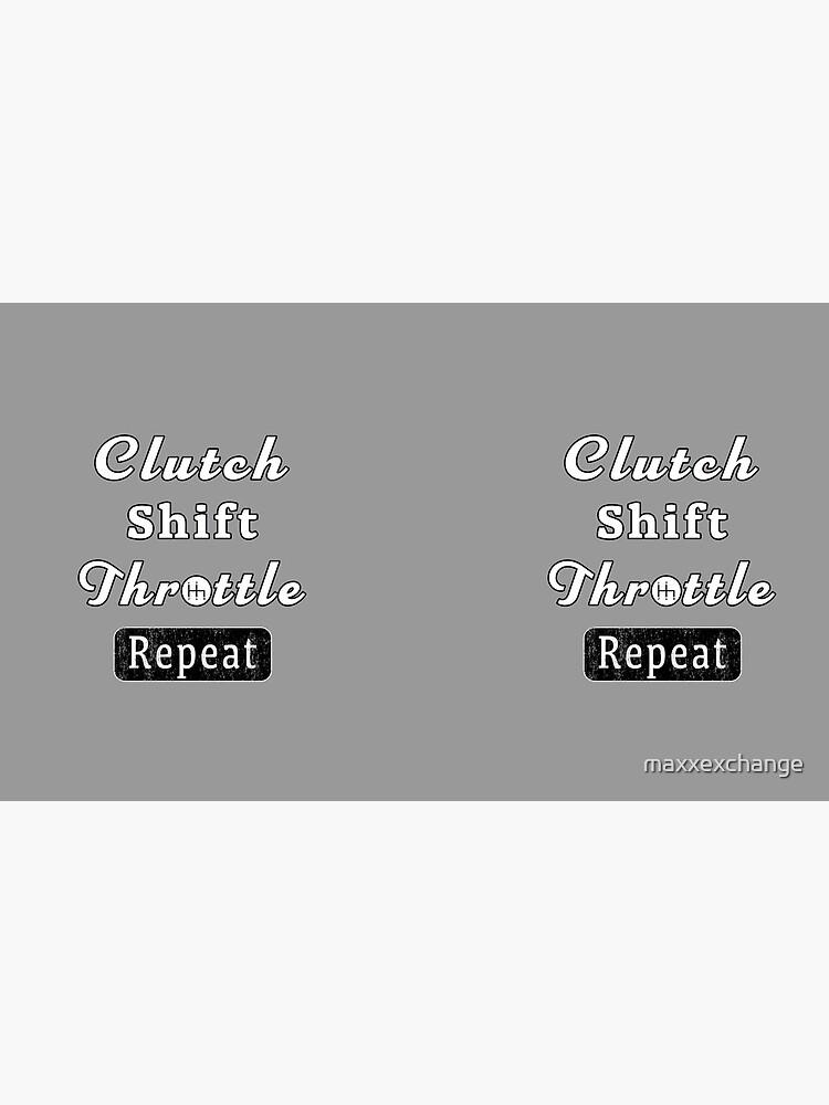 Clutch Shift Throttle Muscle Car Race Mechanic Men. by maxxexchange