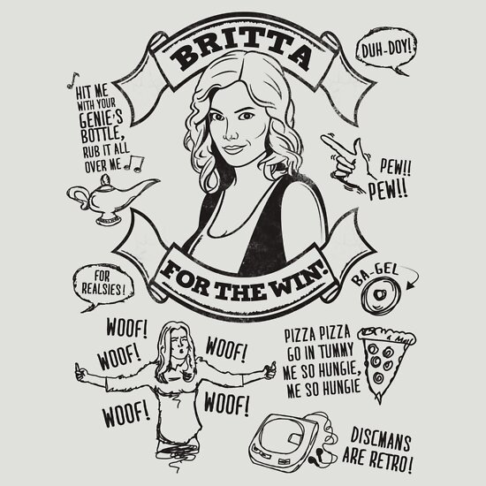 TShirtGifter presents: Britta For the Win