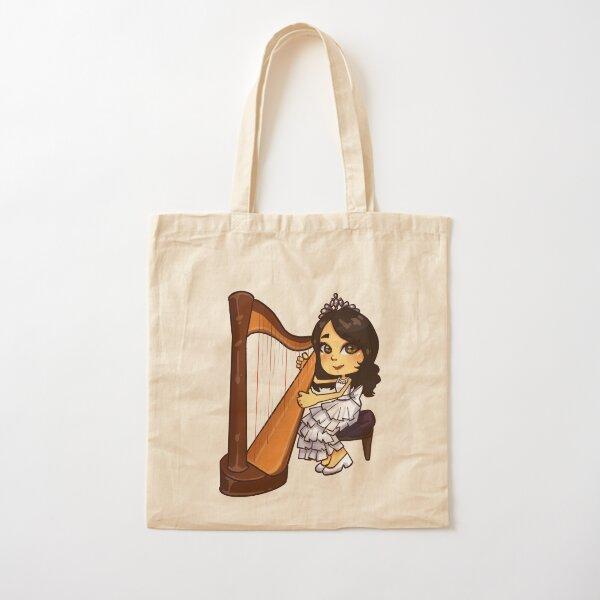 Mad Harpist Cotton Tote Bag