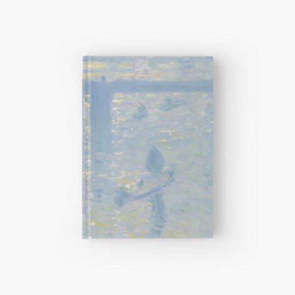Claude Monet - Charing Cross Bridge Hardcover Journal