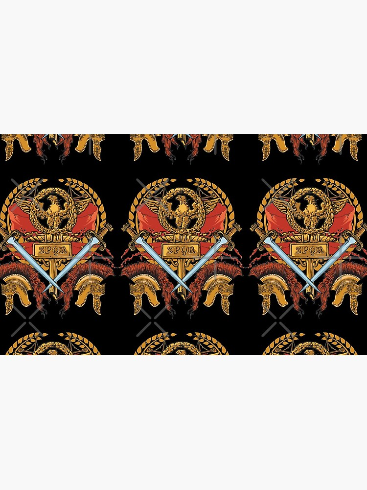 SPQR Ancient Rome Roman Empire Republic Army by thespottydogg