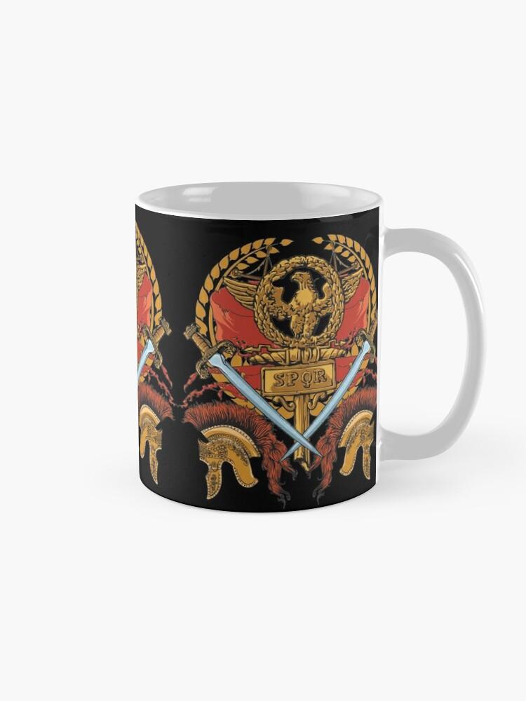 Alternate view of SPQR Ancient Rome Roman Empire Republic Army Mug