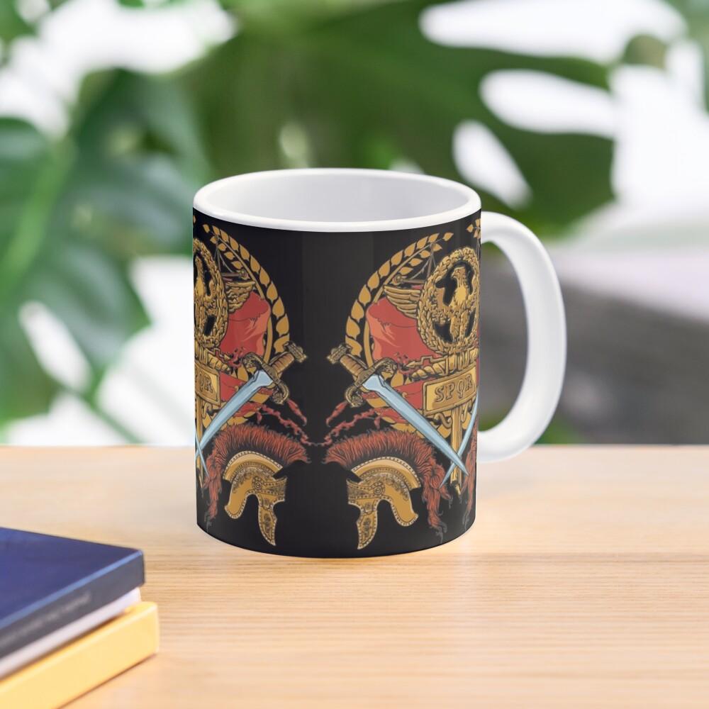 SPQR Ancient Rome Roman Empire Republic Army Mug