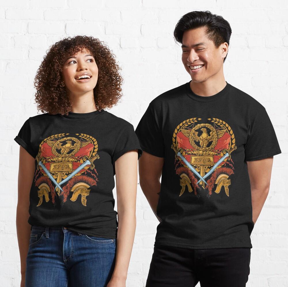 SPQR Ancient Rome Roman Empire Republic Army Classic T-Shirt