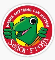 Senor Frog's Sticker