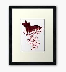 All Animals are Equal Framed Print