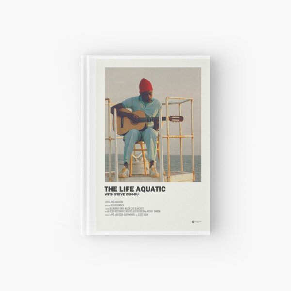 The Life Aquatic Poster Hardcover Journal