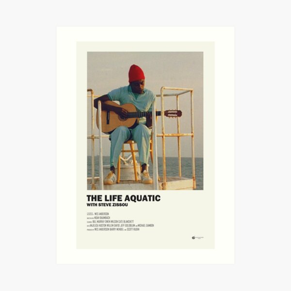 The Life Aquatic Poster Art Print