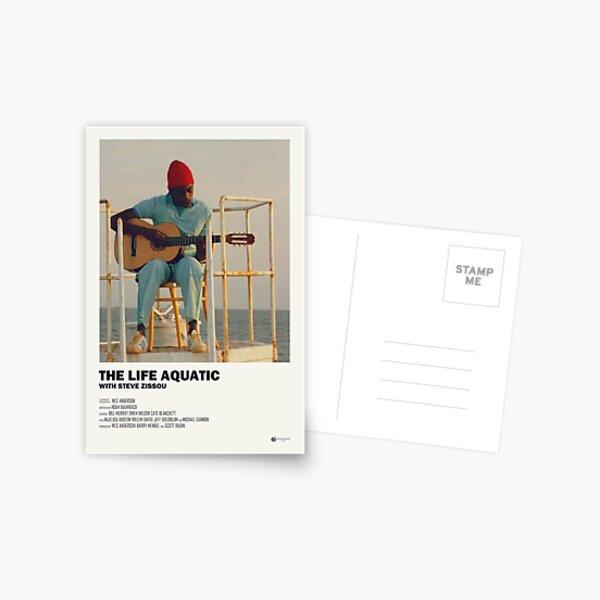L'affiche aquatique de la vie Carte postale