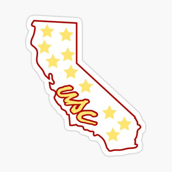 USC star sticker Sticker