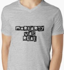 Moriarty Was real Men's V-Neck T-Shirt