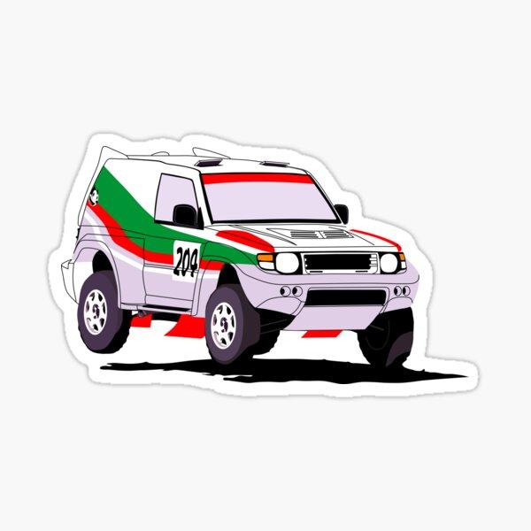 Pajero Evolution Dakar Sticker