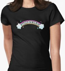 Whatever // Sarcastic Rainbow Pastel Goth T-Shirt