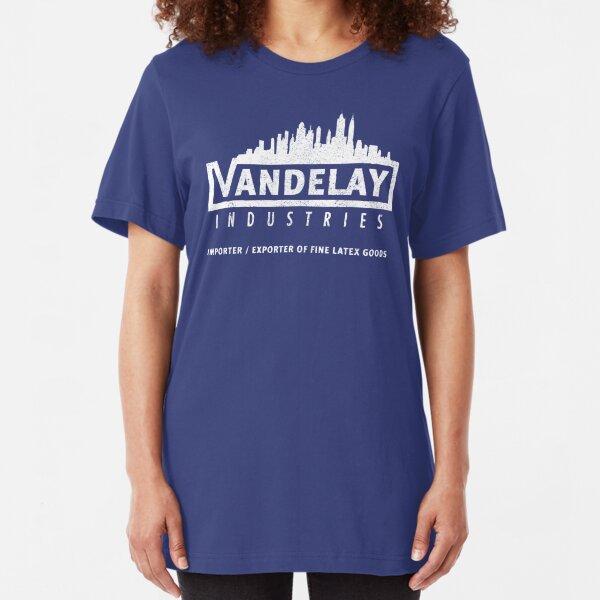 Vandelay Industries (distressed) Slim Fit T-Shirt