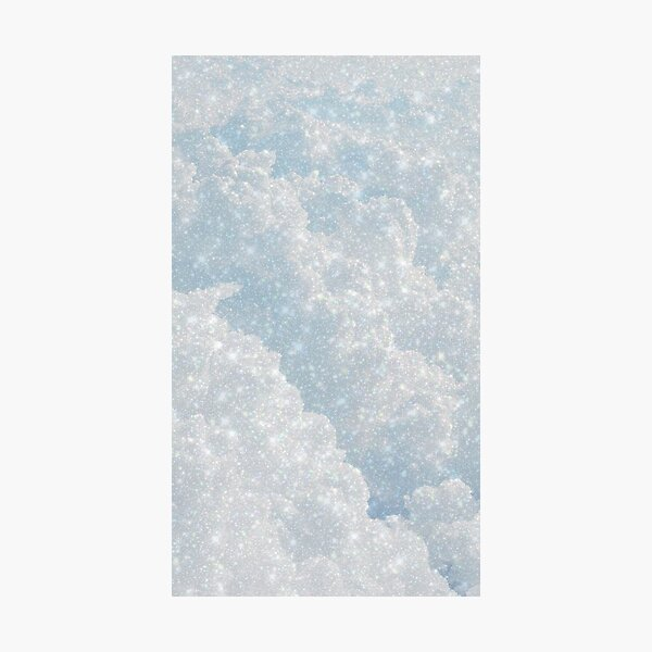 Sparkly Cloud Dream Photographic Print