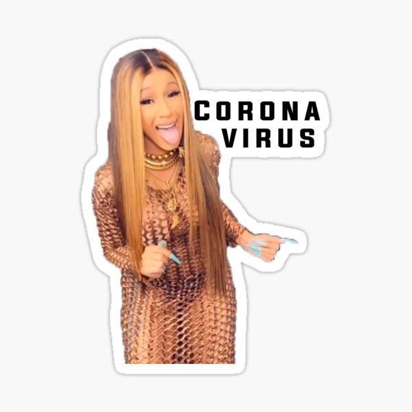 Cardi-V Sticker