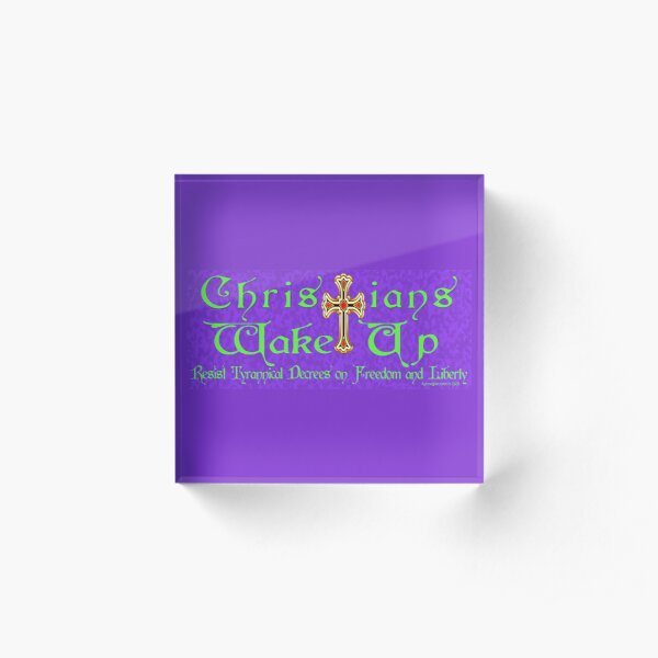 Easter Message Acrylic Block