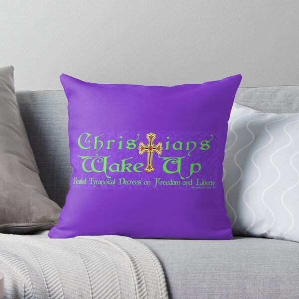 Easter Message Throw Pillow