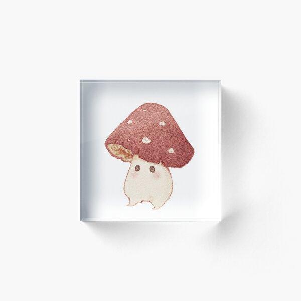 Friendly mushroom  Acrylic Block